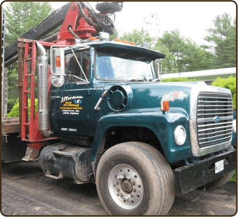 Affordable Well Drilling offers land clearing & debris removal services in Sabattus, ME.